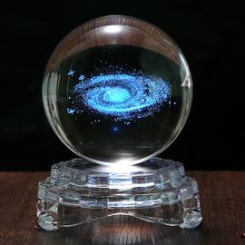 定制创意水晶球星空梦幻摆件少女心家居装饰品女生生日父亲节礼物图片