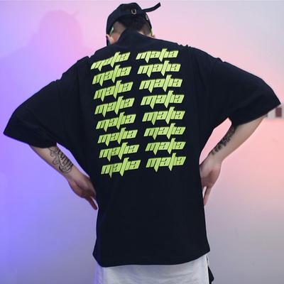 街头范!SWAG SWAG 超级宽松街头oversize半袖T恤 U1316 P40