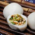 宁波特产象山雪菜团 咸菜团 糯米团雪菜团传统早餐点心糕点4个装