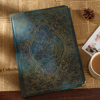 Exquisite personality European retro creative notebook student stationery notebook small fresh art travel notepad