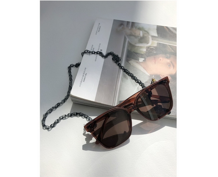 Japan dholic / Fashion uprising fashion basic chain glasses chain