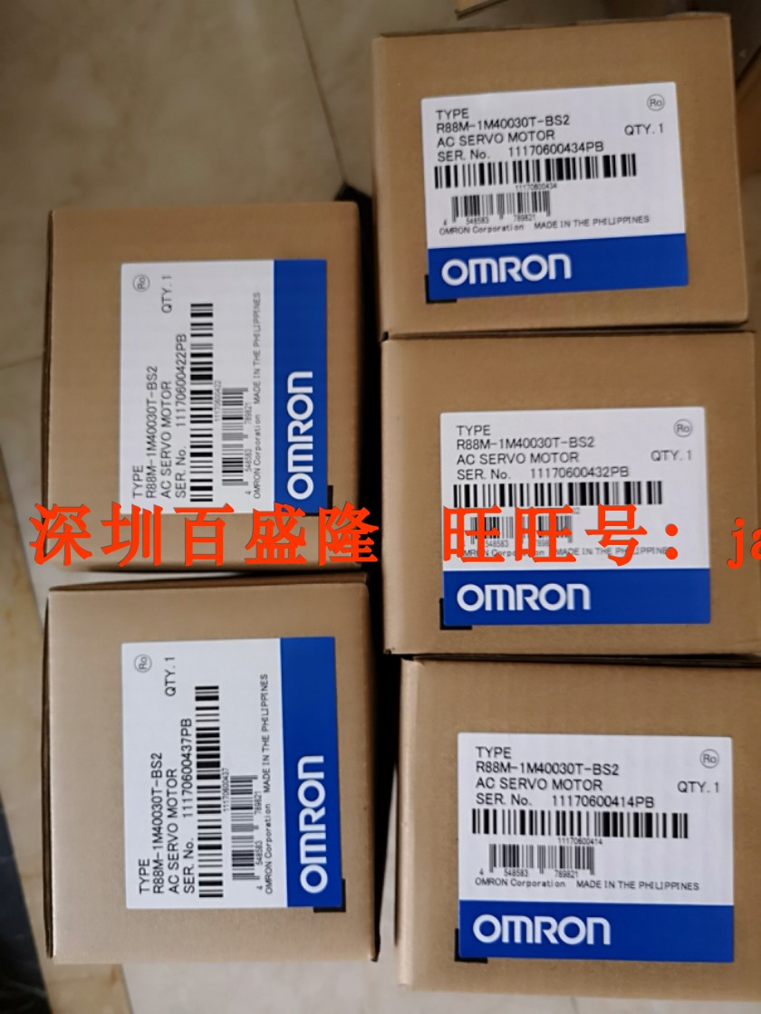 omron /欧姆龙r88m-1m10030t-bs2