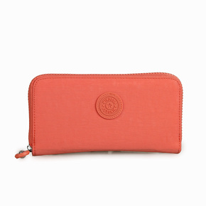 长款钱包女纯色卡包新款尼龙帆布钱夹零钱包手抓包时尚女生手机包