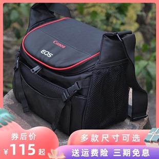 佳能相机包90D5D4单反M50M6二代微单EOSRP850D6D2原装单肩摄影包