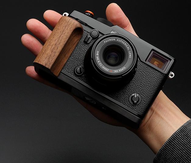 富士X-PRO2 Xpro2相机黑胡桃木手柄 老虎钳工作室 原创设计