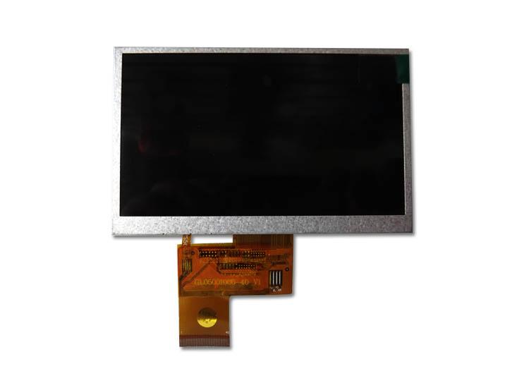 4.3寸工控MP4视频机专用高清液晶屏 显示屏 内屏 屏幕FPC043LA-01