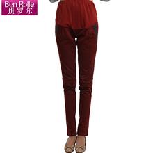班罗尔 优品孕妇装 时尚孕妇裤 长裤子韩版铅笔裤小脚 孕妇装春装图片
