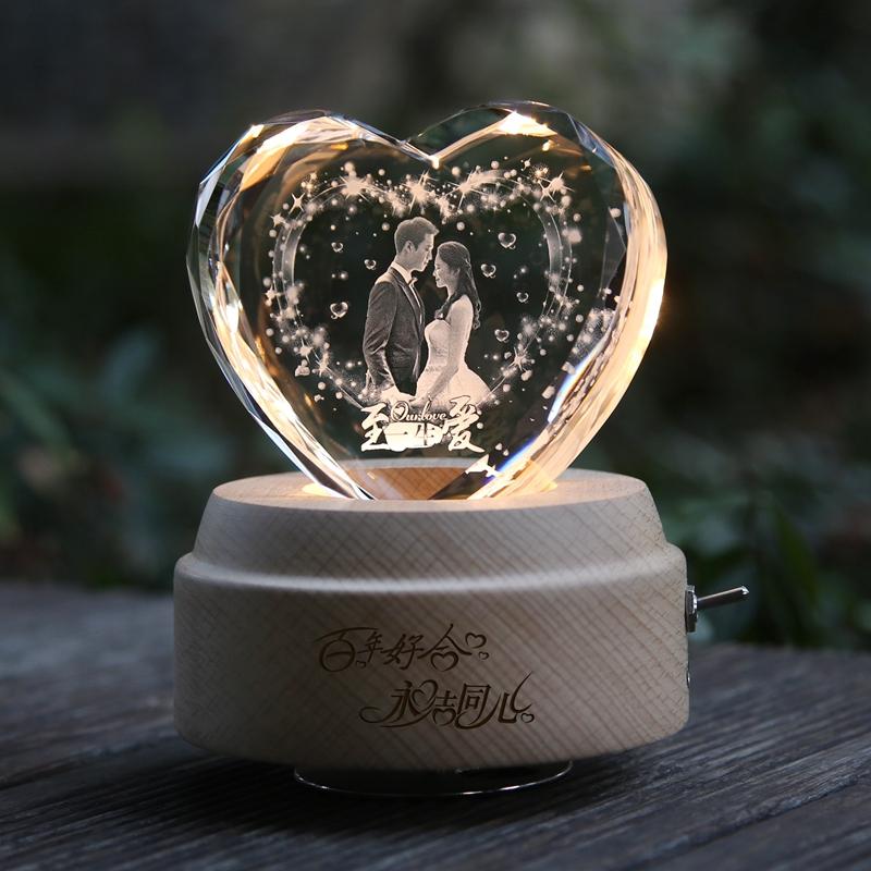 新婚プレゼントは新人の女の子とお兄さん、お姉さん、友達の創意結婚記念日に妻の実用写真をカスタマイズします。