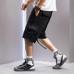 夏季新款短裤男潮牌宽松五分裤嘻哈韩版潮流工装休闲裤子K205 P35