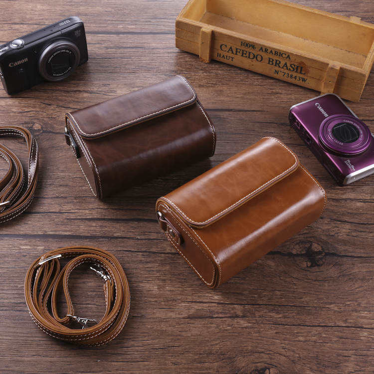Canon g7x2 Sony rx100m6 black card 7 leather case Panasonic lx10 zs80 Ricoh GR3 general camera bag T1
