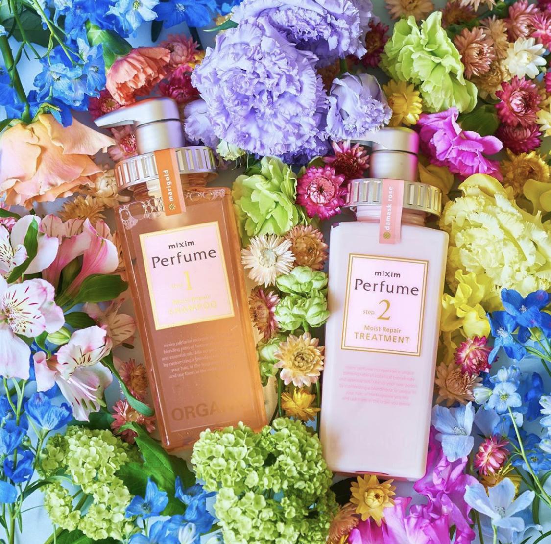现货新款日本mixim potion perfume香氛香水洗发水护发素无硅油