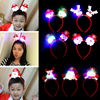 individual package! Christmas headband headdress head buckle Christmas gift antlers hair bands decorations props gift