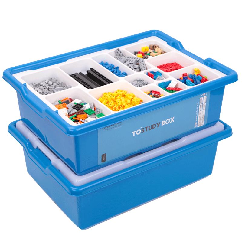 乐高积木零件分类格分层超大收纳盒