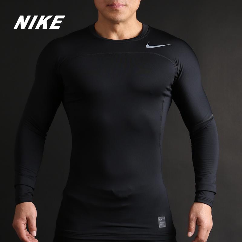 Nike/耐克正品PRO HYPERWARM男子休闲运动长袖训练紧身衣838023