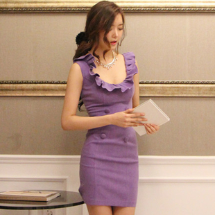 Special 168 yuan 2013 summer new Korean ladies temperament Slim Korean Shopping hip dress women