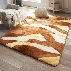 澳尊DS澳洲羊毛地毯客厅卧室地毯羊剪绒毛皮地毯高密度毛绒厚地毯
