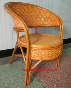印尼藤椅圈椅凉椅粗藤椅休闲椅沙发椅户外椅住宅家具