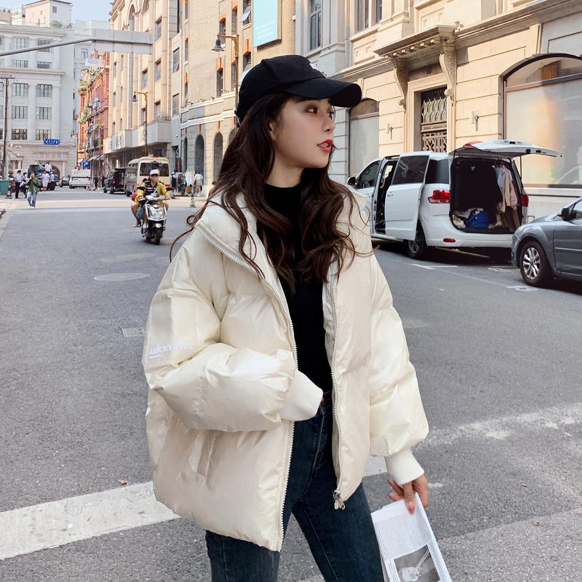 羽绒服女短款2020年新款正品韩版小个子白鸭绒时尚百搭加厚冬装潮