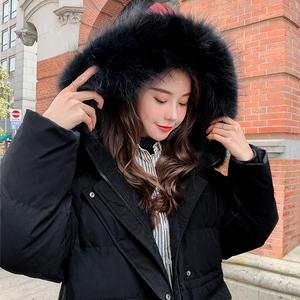 2021年新款羽绒服女中长款白鸭绒时尚加厚超长过膝韩版正品冬季