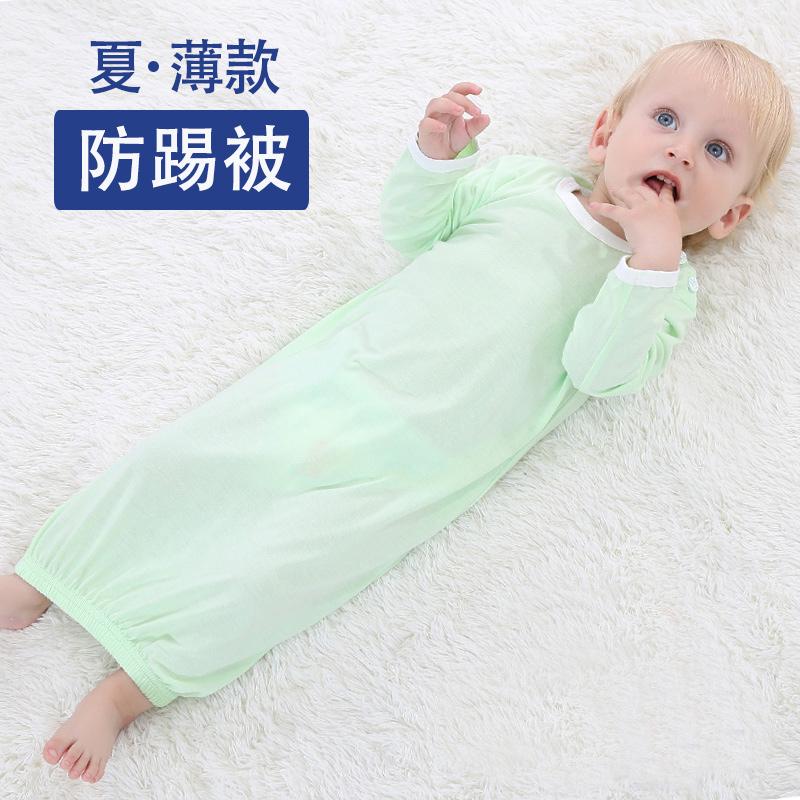 清倉 純棉春夏款嬰兒睡衣寶寶睡衣睡袍兒童長袖睡袋睡裙居家