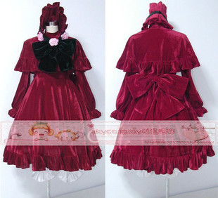 Cheap sky sky Rozen Maiden anime costumes true red cos cos