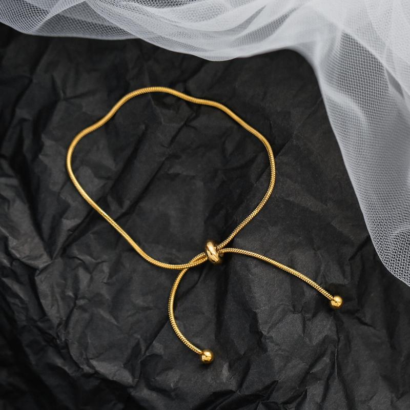 新款小众设计ins风抽绳可调节手链女韩国简约学生潮人闺蜜圣诞图片
