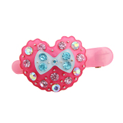 Baojing children''s hair accessories girls '' hair bows Duckbill clip bangs clip rhinestone jewelry clips baby hair