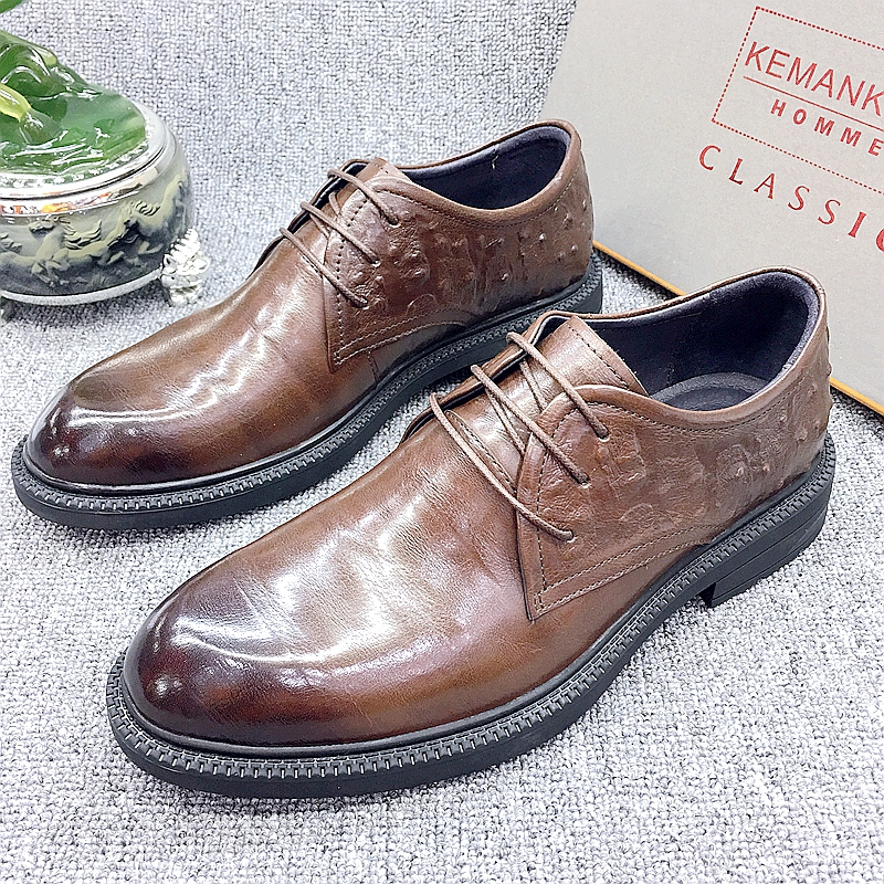 Mens high-end mens shoes and mens shoes