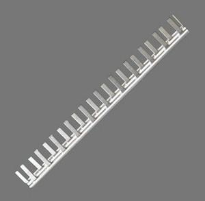 机电五金优质紫铜DZ47/C45汇流排1P2P3P铜排/连线排/接线排1米/条