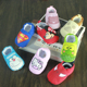Men and women baby shoes 0-1 year old baby toddler shoes spring and autumn soft 3 - 6 - 12 months can not lose shoes indoor step shoes