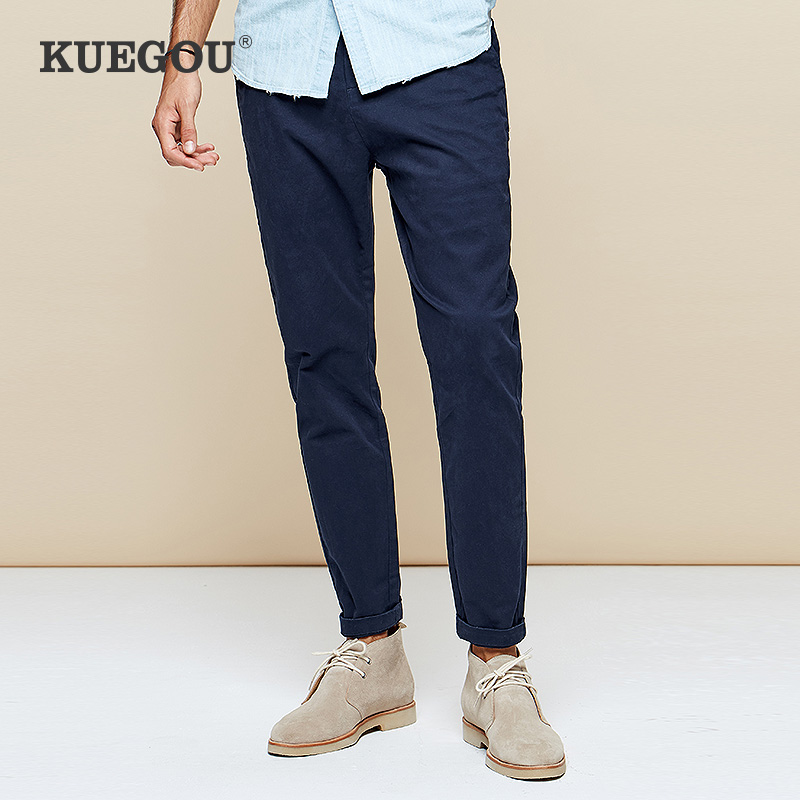 Mens casual pants mens long pants in spring and Autumn