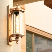 客厅墙灯轻奢个姓创意镜前灯过道阳台卧室床头双头壁灯ins北欧