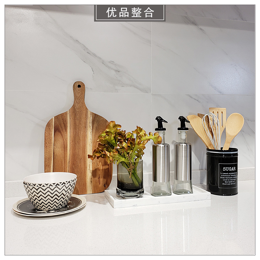 Modern model room interior soft decoration kitchen home furnishing dish salad bowl tray combination zh2173