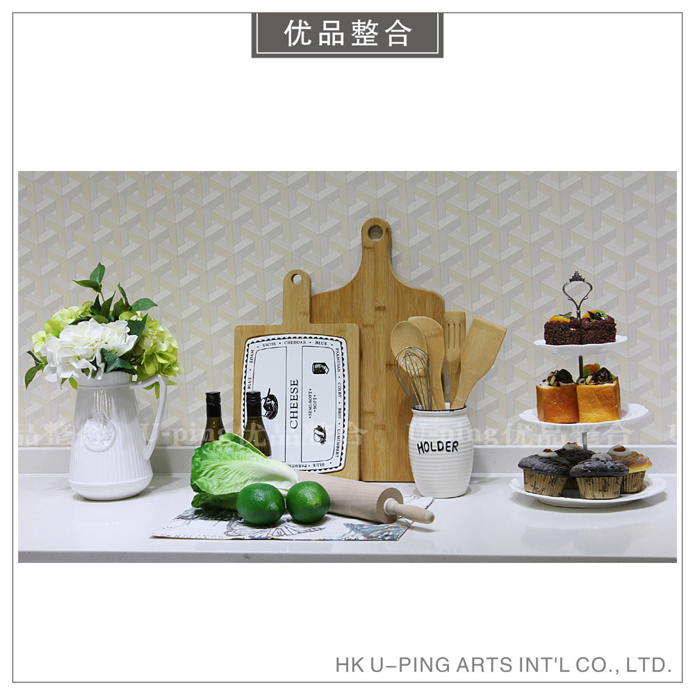 Modern simple model room soft decoration home kitchen fruit and vegetable simulation cake flower decoration decoration zh1258