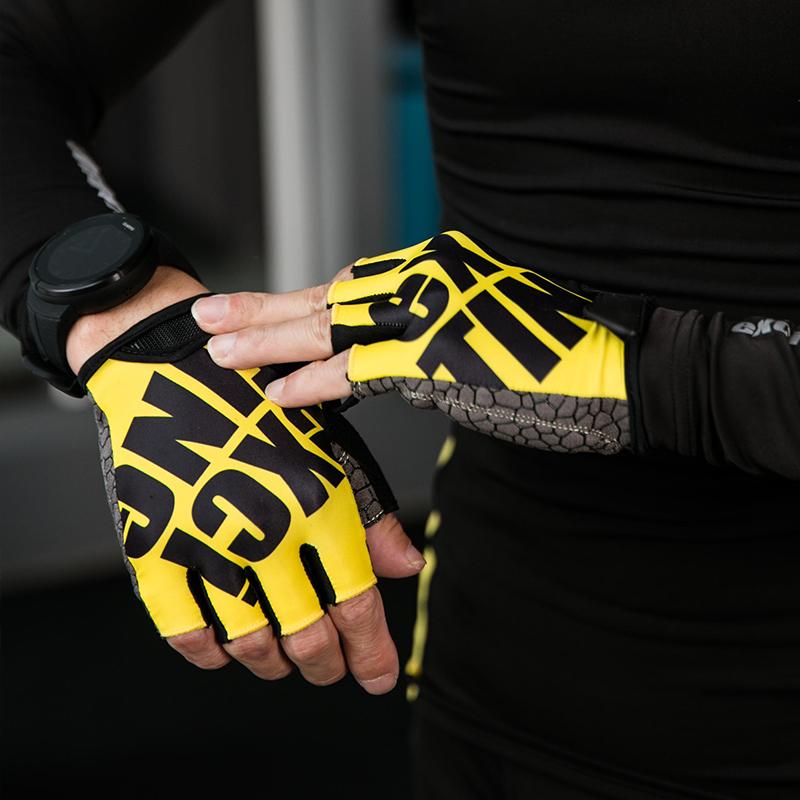 Мужские перчатки без пальцев Артикул 559982092749