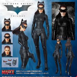 [现货] 正版medicom mafex 蝙蝠侠电影 猫女2.0 关节可动模型手办图片