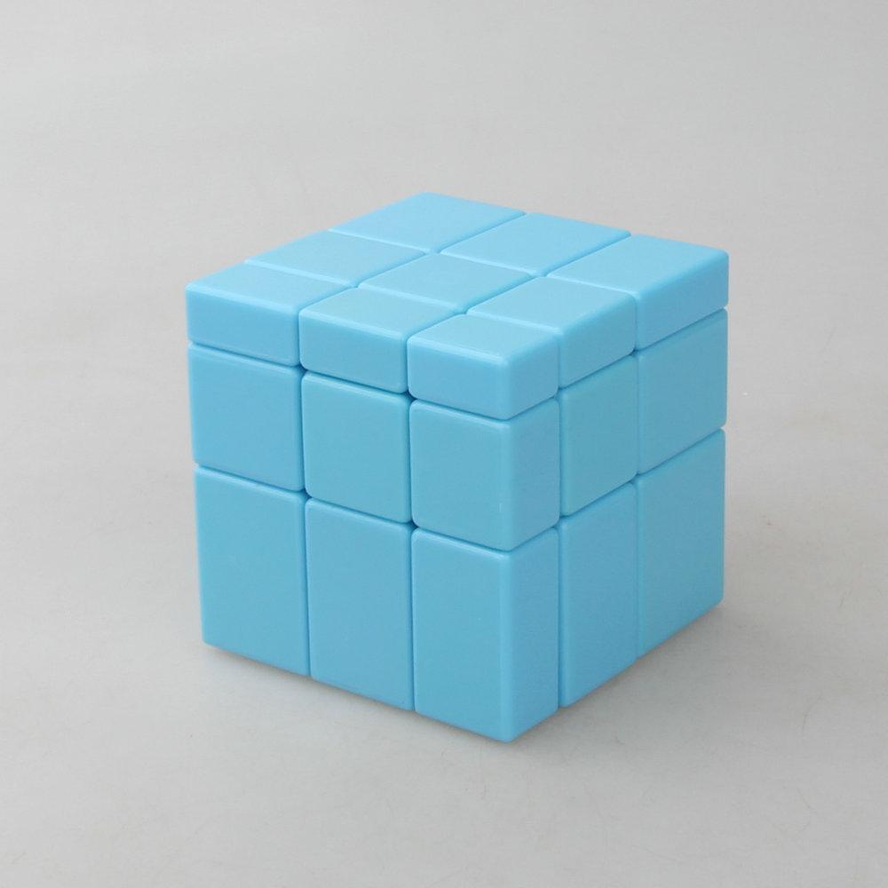 【圣手 蓝色 镜面魔方】Mirror Blocks 蓝色底 变形3阶镜面魔方11月06日最新优惠