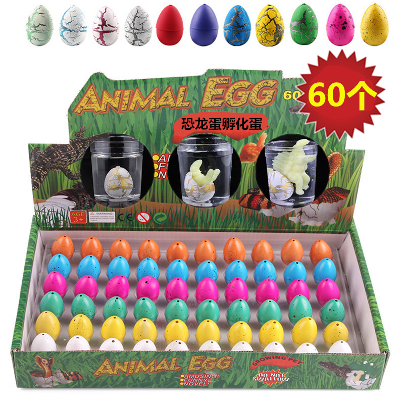 Dinosaur egg hatching egg large water swelling deformation bubble water toy childrens creative gift Tyrannosaurus Rex