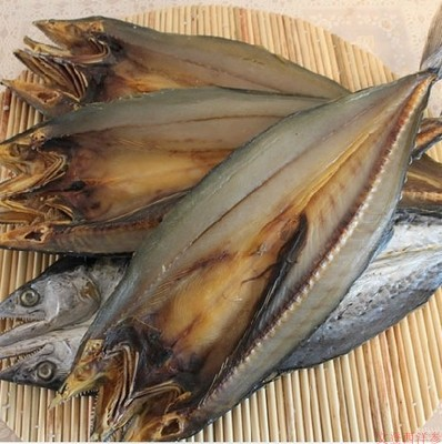 Wild salted Spanish mackerel dried 500g package post salted mackerel dried salted swallow mackerel dried sea fish salted fish dried salted aquatic products