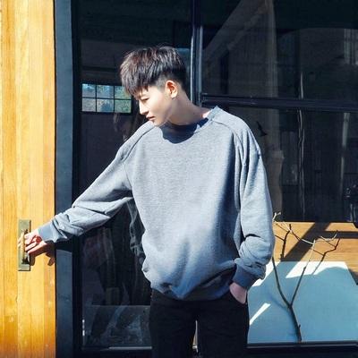 2018春季韩版复古折褶包边三色卫衣 W315/P68