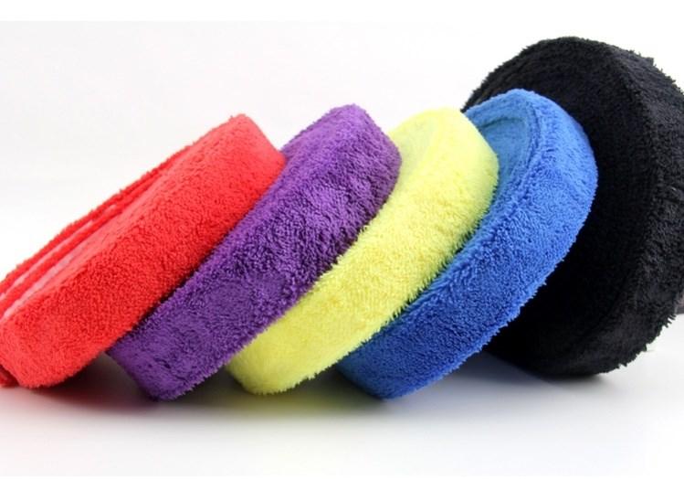毛巾胶羽毛球大盘手胶球拍手柄握柄运动专用吸汗柔软大卷防滑胶带图片