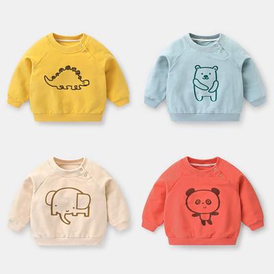 婴儿卫衣春秋装秋装儿童幼儿男童宝宝女童上衣1岁小童洋气潮Y3888