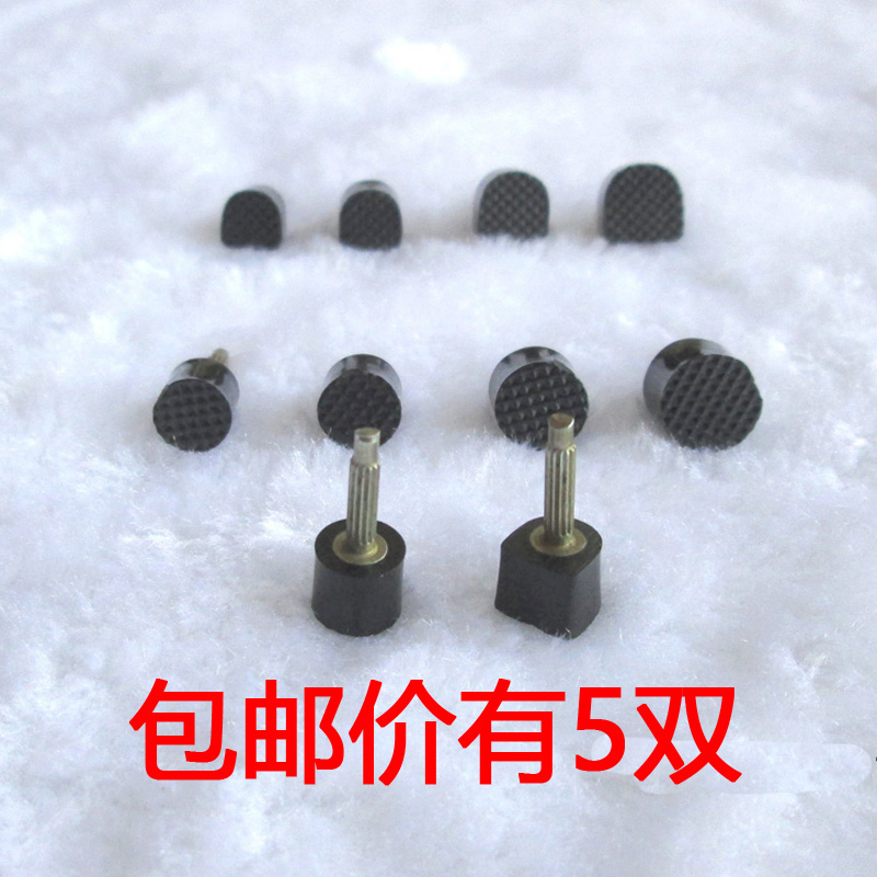 High heels, heel nails, black thick core, 3mm thin core, 2.4mm ultra-fine heel, antiskid, wear-resistant, mute nail heel