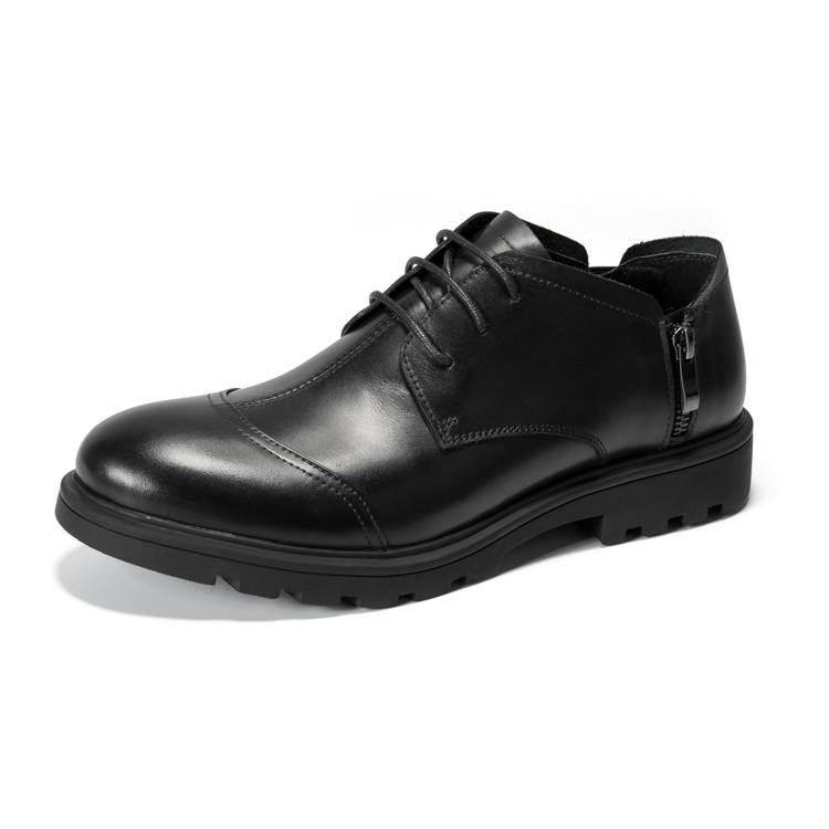 ヒッピー男子靴のトップ層の牛革正品の紳士ビジネス百似合いのカジュアル靴です。