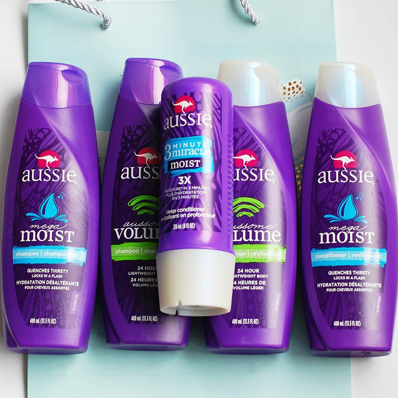 两月 美国Aussie袋鼠 洗发水|护发素|发膜 蓬松保湿护发修复顺滑