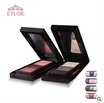专柜正品 韩国ETUDE 爱丽小屋 魔幻三色眼影盒 3g 三色选