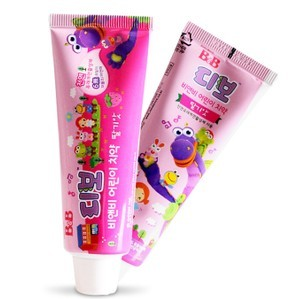 burst Buy price of 9 8 yuan South Korea B amp B baby toothpaste strawberry flavor 80g List 16