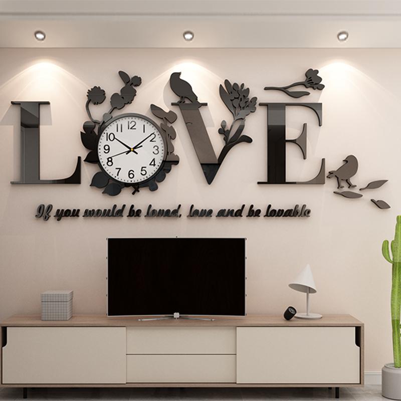 电视背景墙贴纸自粘壁画客厅餐桌