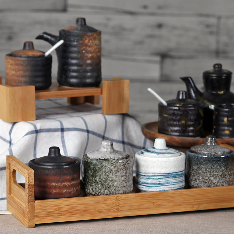 套装家用日式厨房用品创意调料盒