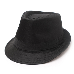 Yiji decorative hat autumn and winter hat men hat black hat jazz hat male hat